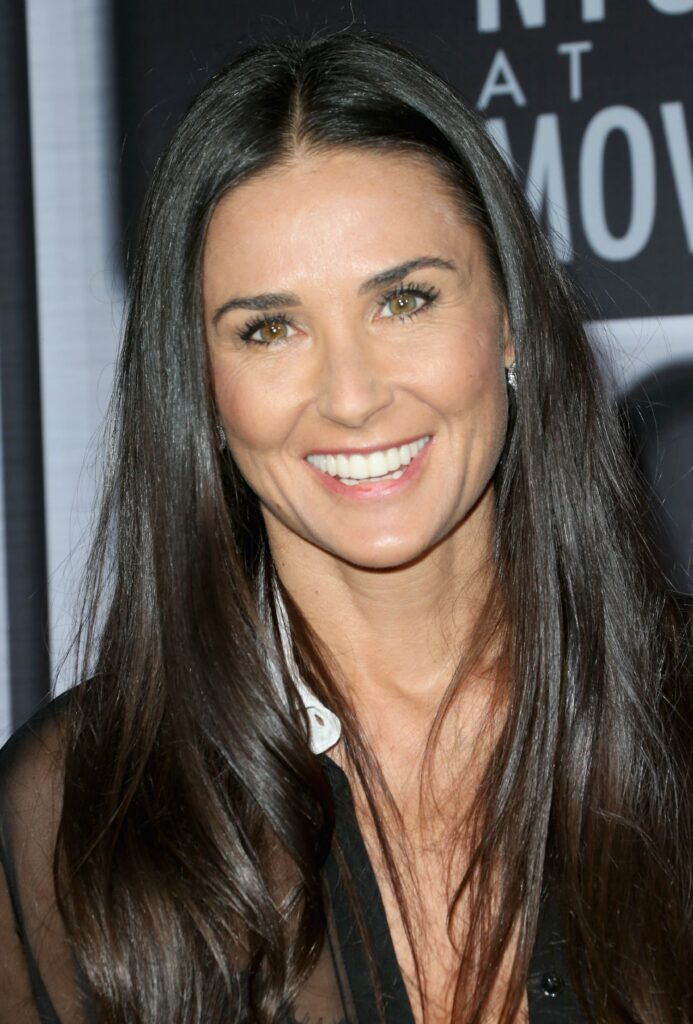 Demi Moore Chirurgie dentaire